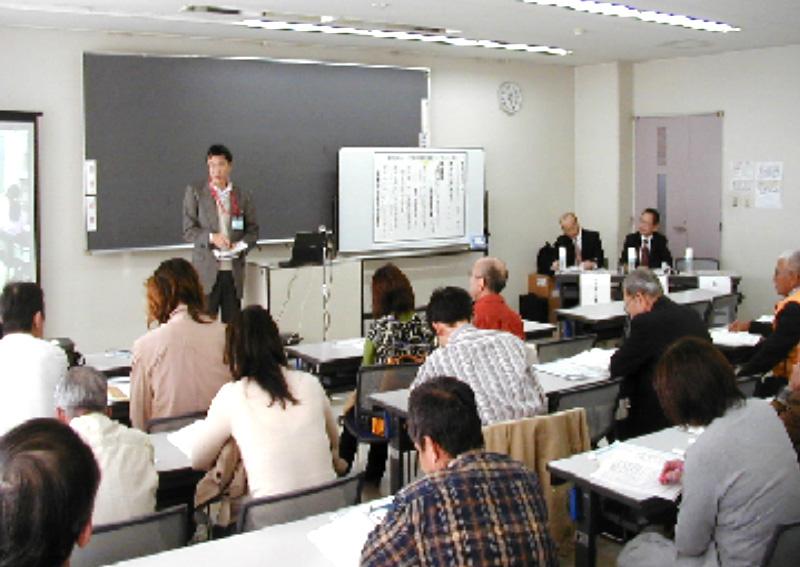 大阪堺市で日本市民安全学会パネラー