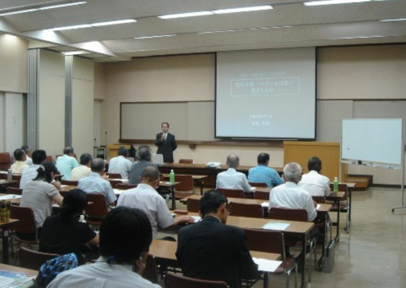 藤沢合同庁舎で防犯リーダー養成講座講師