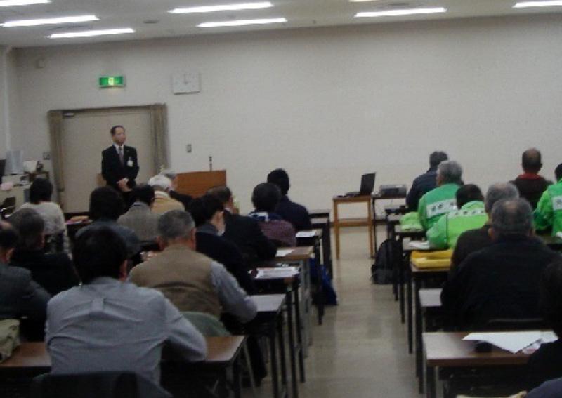 湘南地区防犯セミナーに講師派遣