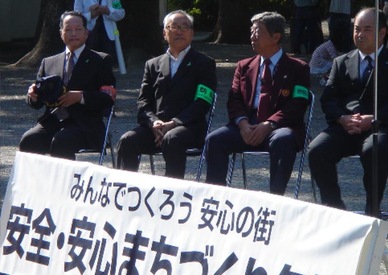小田原城址公園でキャンペーン